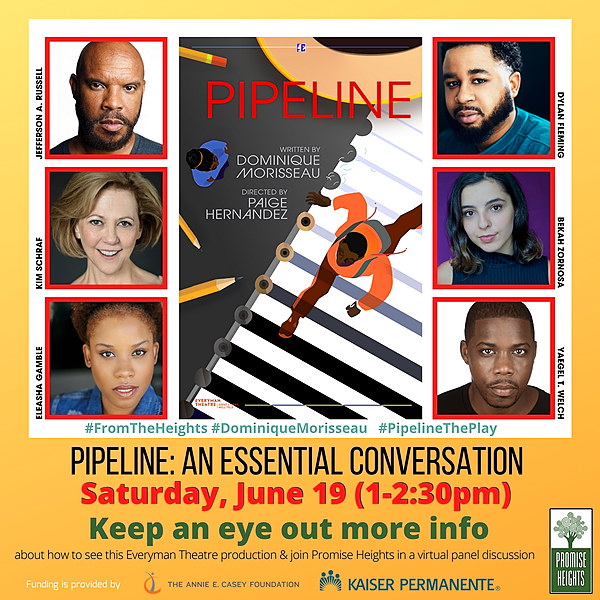"""@promiseheights See the video of our 6/19/21 Discussion: """"PIPELINE, AN ESSENTIAL CONVERSATION"""" Link Thumbnail 