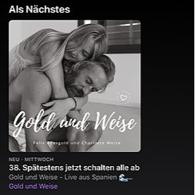 @charlotteweise GOLD und WEISE Podcast Apple Link Thumbnail   Linktree