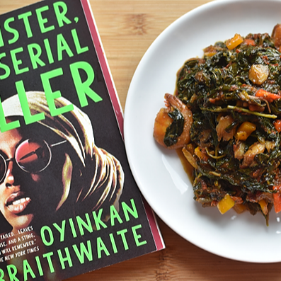 "Eat the Book: ""Efo, Nigerian Stewed Greens """