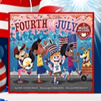 @Ms.Menji ❤️💙 4th of July Libraries Link Thumbnail | Linktree
