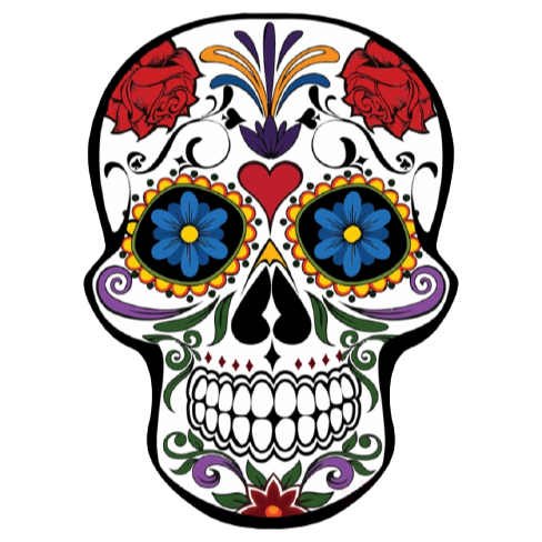 Order of Operations - Day of the Dead Pixel Art