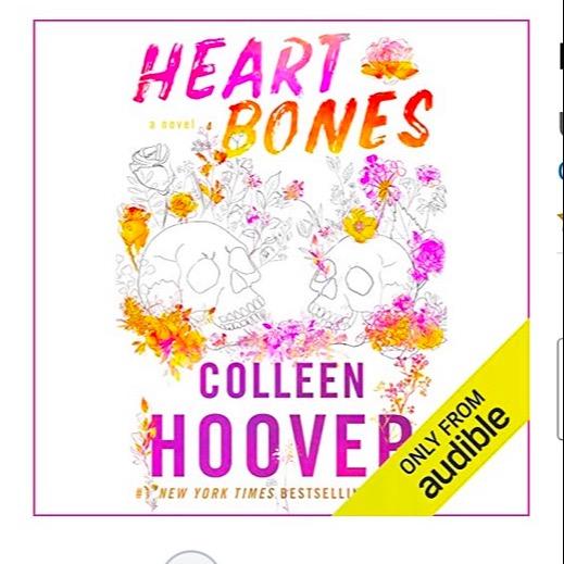 @Colleenhoover Heart Bones audiobook Link Thumbnail   Linktree
