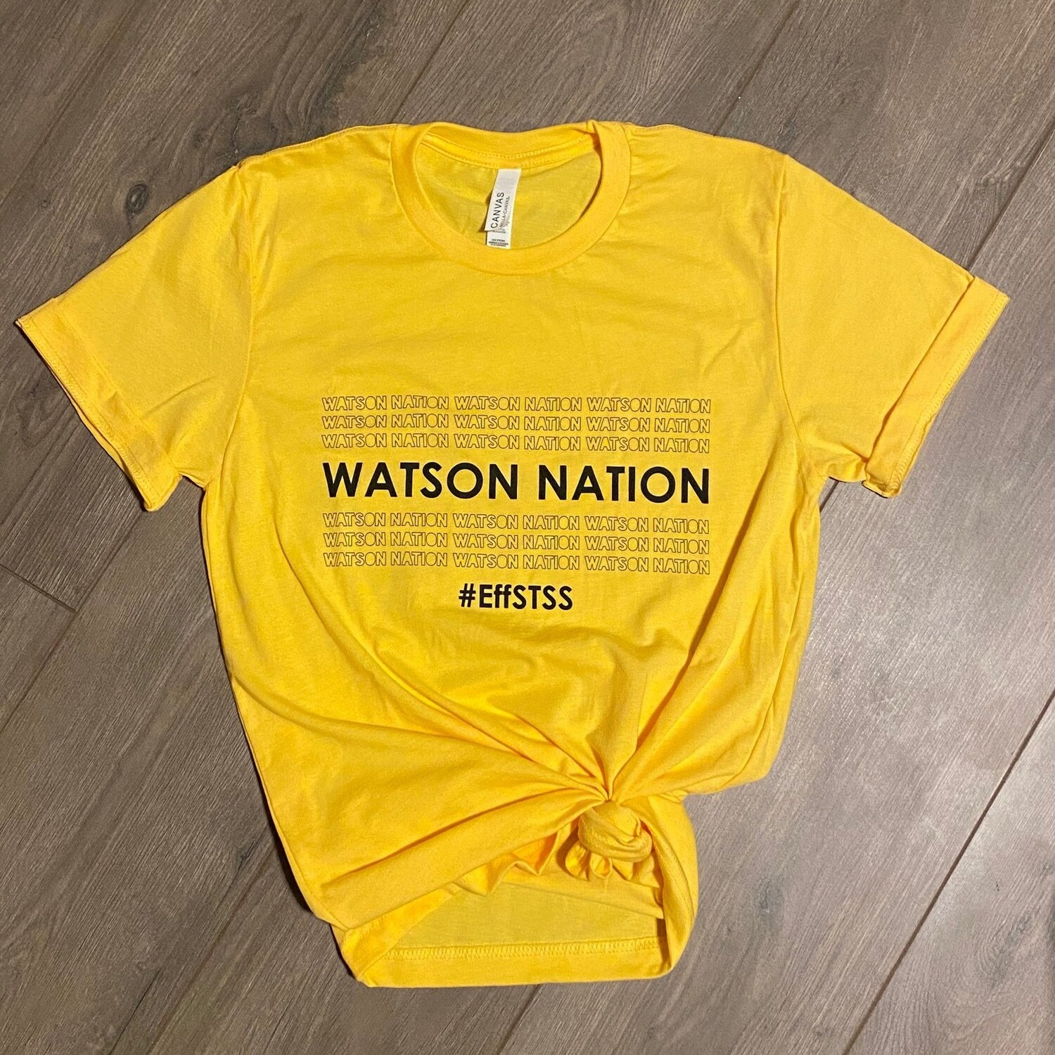 Watson Nation WATSON NATION t-shirts by Get There Athletics Link Thumbnail | Linktree