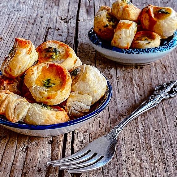 Ispanaklı Milföy Böreği