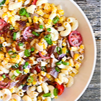 Creamy Summer Corn Pasta Salad Recipe