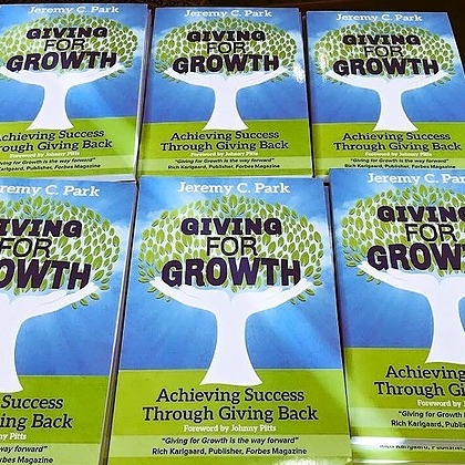 Buy my book, Giving for Growth, on Amazon as an e-book for $4.99