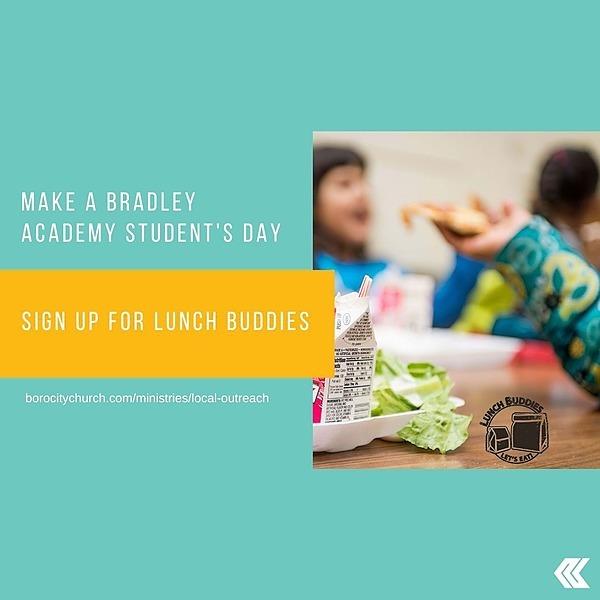 Lunch Buddies With Bradley Academy