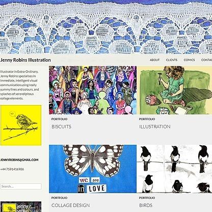 Jenny Robins Website Link Thumbnail | Linktree