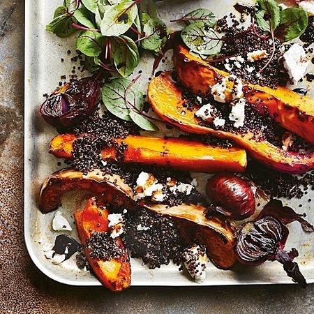 @donnahaymagazine mustard-roasted pumpkin salad with quinoa Link Thumbnail   Linktree