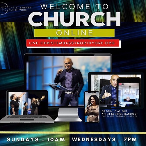 WELCOME TO CHURCH ONLINE (SUN 10AM)