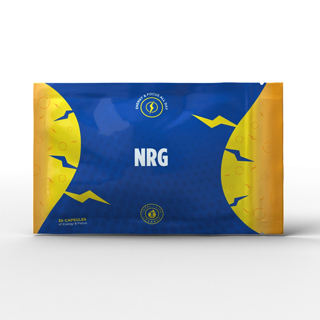 ORDER NRG-FOR MORE ENERGY-MONTH SUPPLY