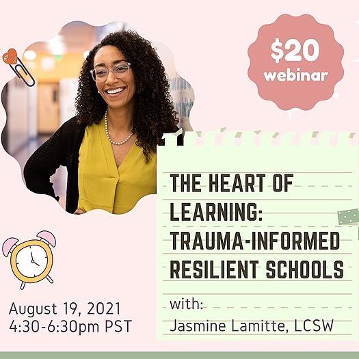 @socialworksage Webinar: The Heart of Learning: Trauma-Informed Resilient Schools Link Thumbnail | Linktree