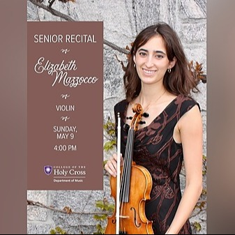 @HCmusic Senior Recital: Elizabeth Mazzocco, violin - May 9th - 4:00pm Link Thumbnail   Linktree