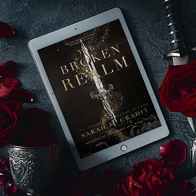 Author Sarah M. Cradit The Broken Realm Link Thumbnail | Linktree