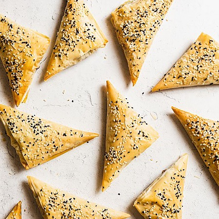 Andrew Janjigian (@wordloaf) Serious Eats: Borek (Armenian Spinach and Cheese Turnovers) Link Thumbnail | Linktree