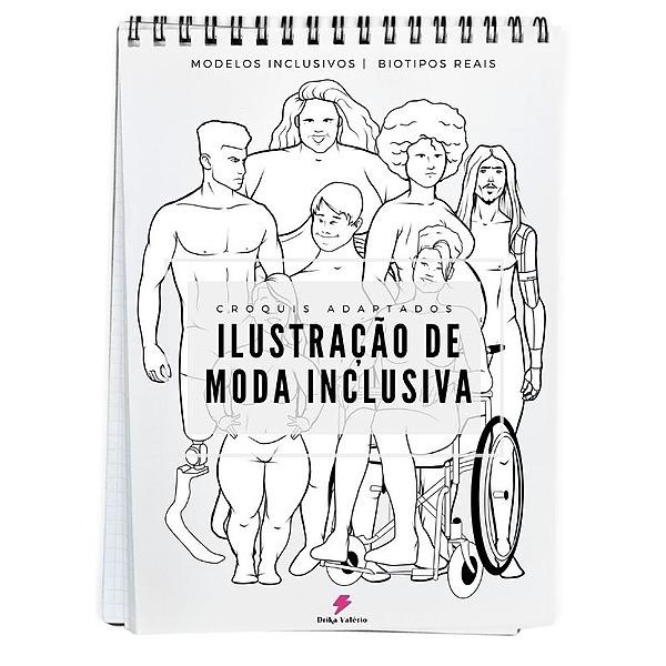 ⚡ DRIKA VALÉRIO E-book Ilustração de Moda Inclusiva Link Thumbnail | Linktree