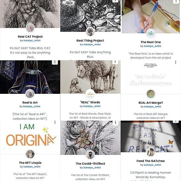 "Sukalya Chearanantana ""REAL"" Project  (NFT_Collections)  Link Thumbnail | Linktree"