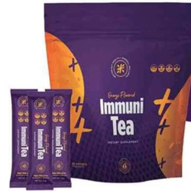 IMMUNI-TEA W/TURMERIC, VITAMIN D3 & GINGER