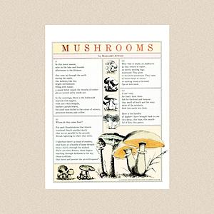 "The Atlantic Poem: ""Mushrooms"" by Margaret Atwood. Link Thumbnail | Linktree"