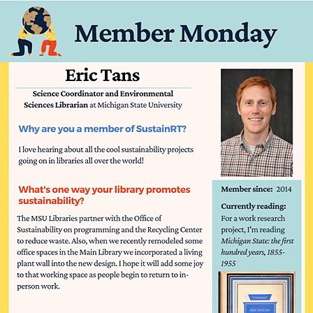@alasustainrt Member Monday: Eric Tans Link Thumbnail   Linktree