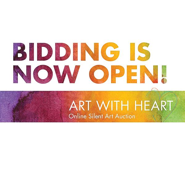 BIDDING HAS BEGUN! Don't miss your chance to bid. Creative York Galleries