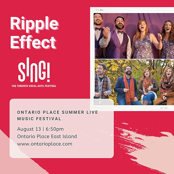 @rippleeffectquartet Reserve your FREE ticket for Ontario Place Summer Live Music Festival! Link Thumbnail | Linktree