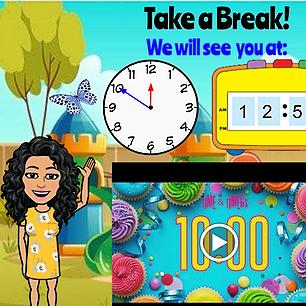 June Break Timer