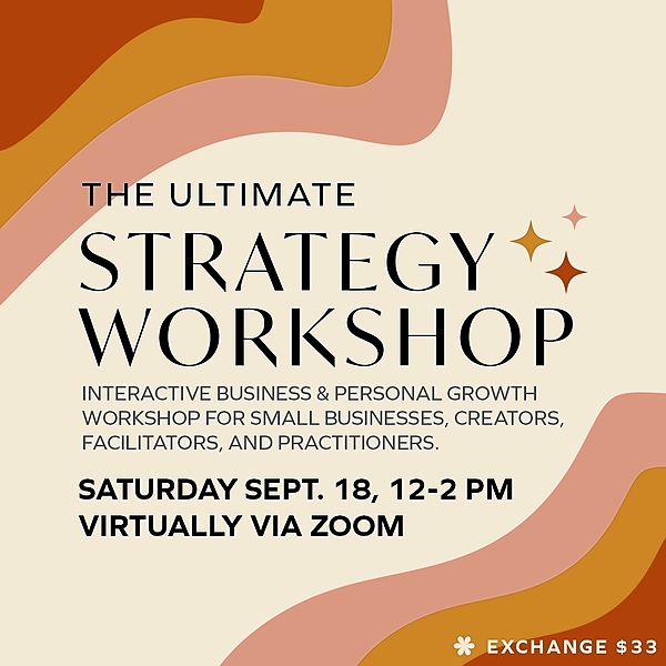 @samsedlackcreative Sign Up For My Strategy Workshop Link Thumbnail | Linktree