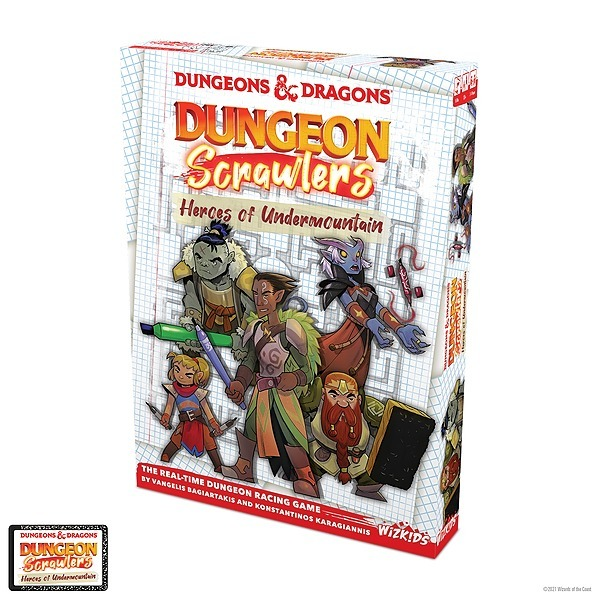 WizKids Official Dungeon Scrawlers: Heroes of Undermountain on Gamespot! Link Thumbnail | Linktree