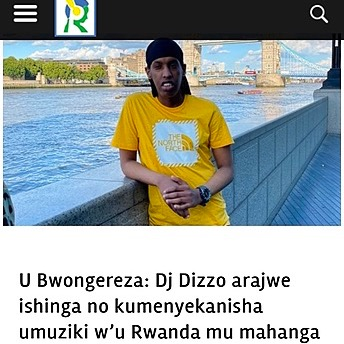 @DjDizzo Inyarwanda article  Link Thumbnail   Linktree
