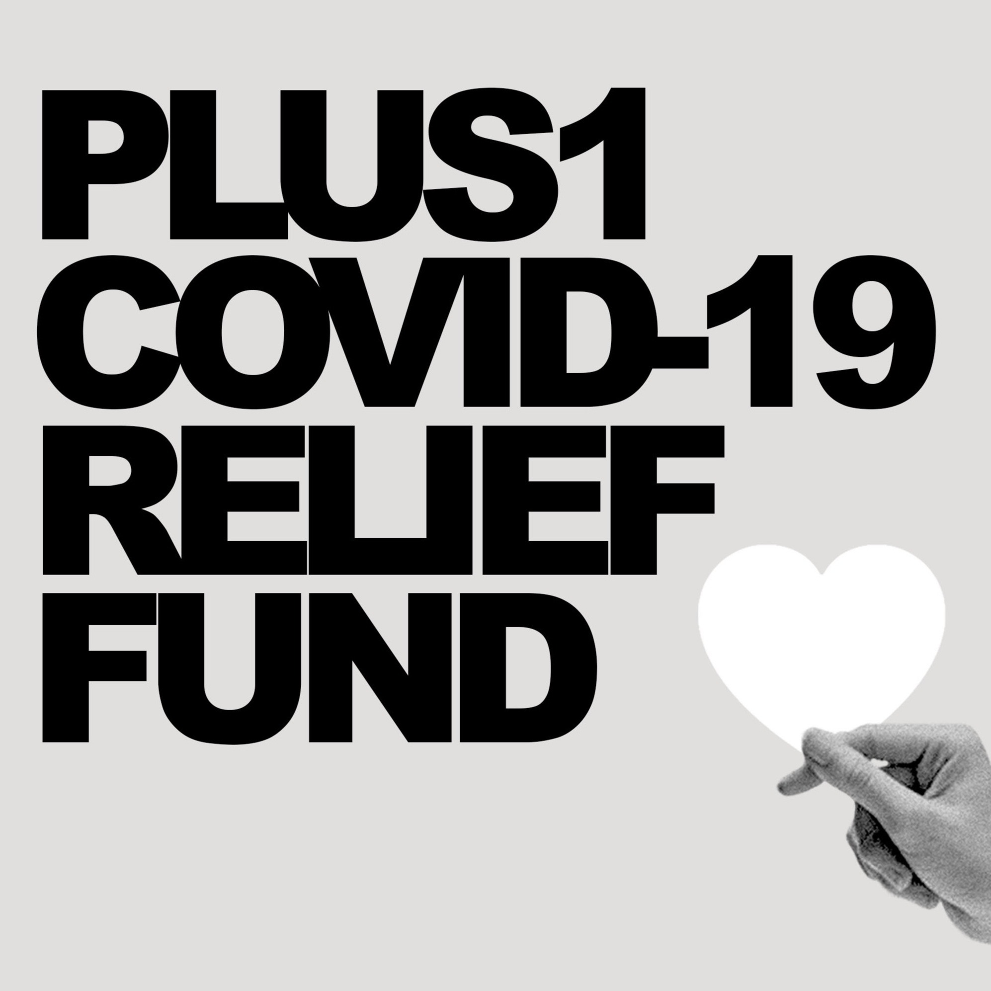 Donate to the PLUS1 COVID-19 Relief Fund