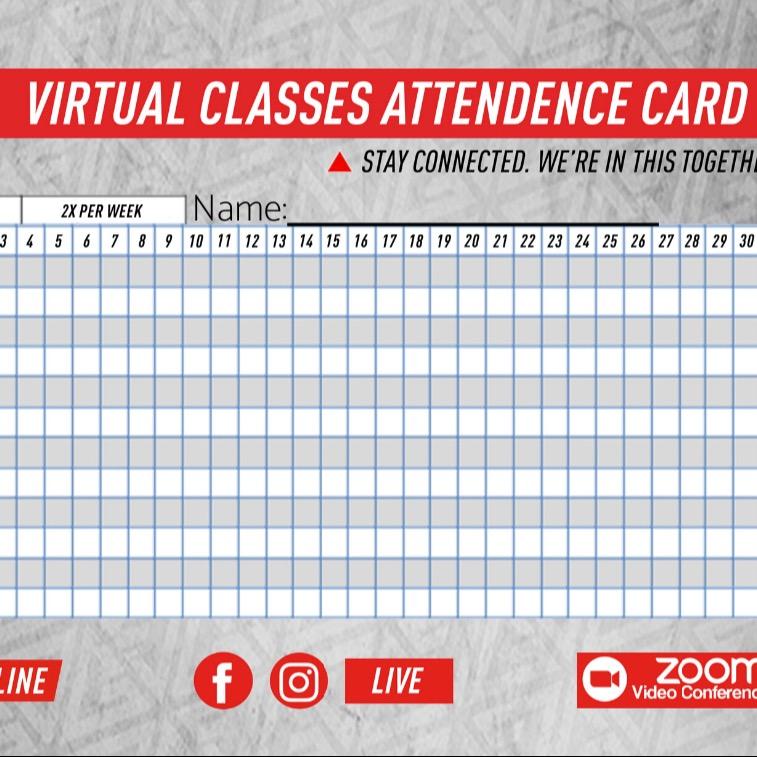 Virtual Attendance Card