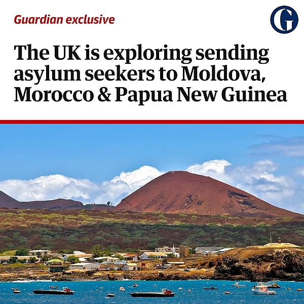 Revealed: No 10 explores sending asylum seekers to Moldova, Morocco and Papua New Guinea