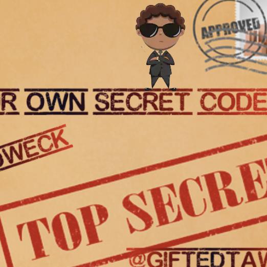 @GiftedTawk Create Your Own Secret Code Jamboard Link Thumbnail | Linktree
