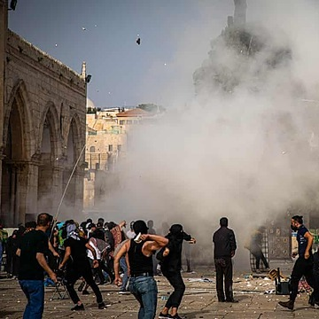 What has caused Jerusalem's worst violence in years?