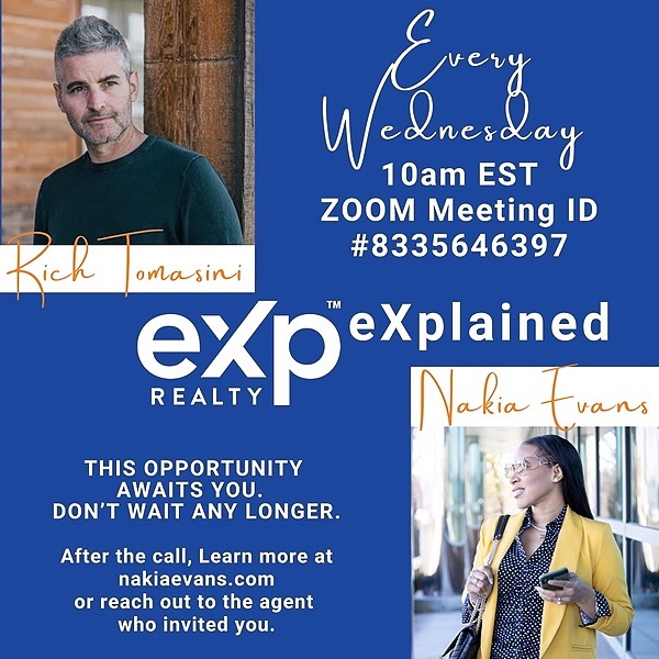 Nakia Evans | Leadership Coach eXp eXplained LIVE on Wednesday's at 10am ET Link Thumbnail | Linktree