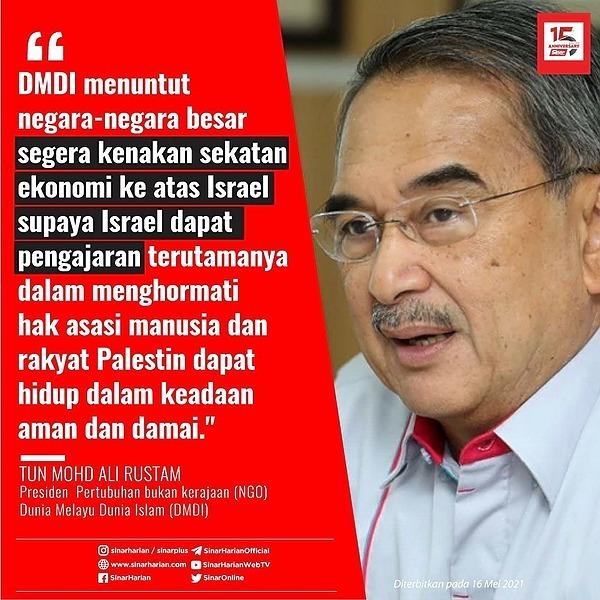 @sinar.harian DMDI gesa tentera pengaman PBB dihantar ke Gaza Link Thumbnail | Linktree