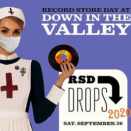 Record Store Day Drop #2-- September 26th Doors @9am