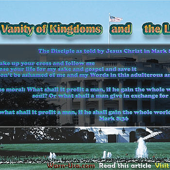 @WarnRadio 👀✨ Do not miss this Post: Vanity of Kingdoms and the Lust of Travail  Link Thumbnail | Linktree