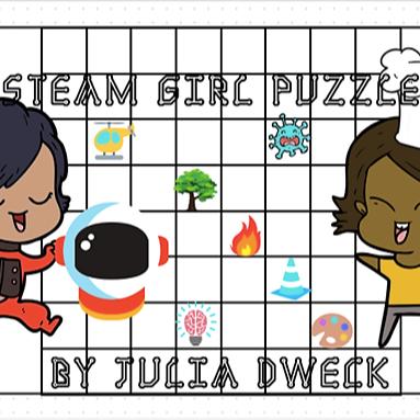 STEAM Girls Puzzles *Beginner Level