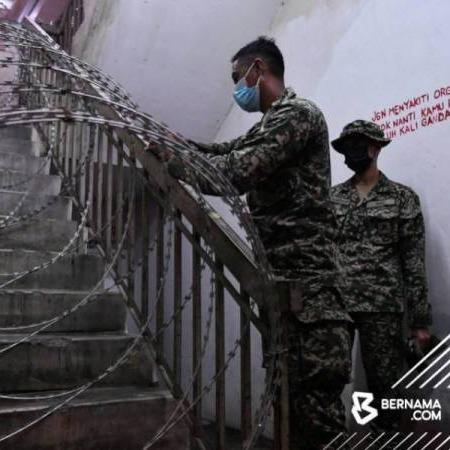 @sinar.harian PKPD: Kawat dipasang di tangga elak penduduk keluar masuk blok Link Thumbnail | Linktree