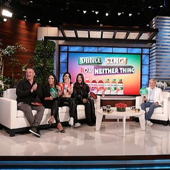 The D'Amelio Family Our First Time on Ellen Now on YouTube Link Thumbnail   Linktree