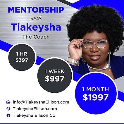 @Tiakeysha Mentorship Link Thumbnail | Linktree