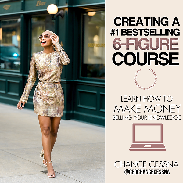 Creating A #1 Best-Selling 6-Figure Course