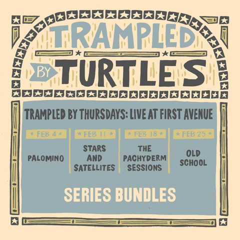 Buy Tickets- Trampled By Turtles--Thursdays at First Avenue