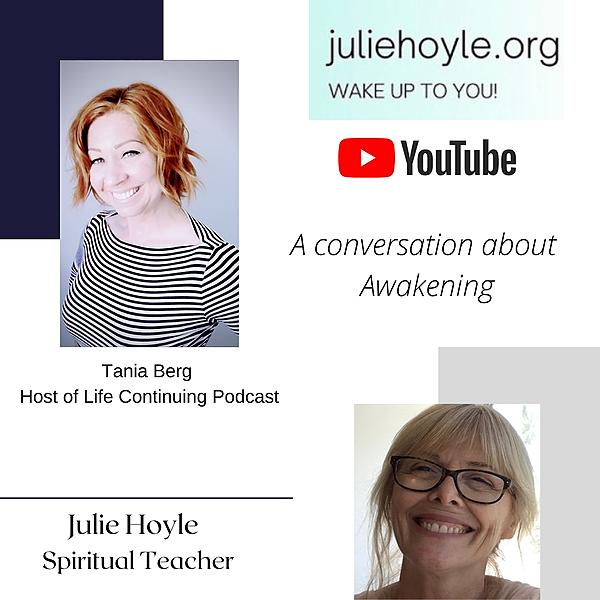 @lifecontinuing Julie Hoyle Interview - YouTube Channel Link Thumbnail | Linktree