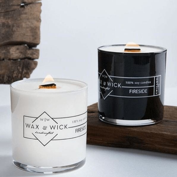 WAX & WICK Scented Soy Candles
