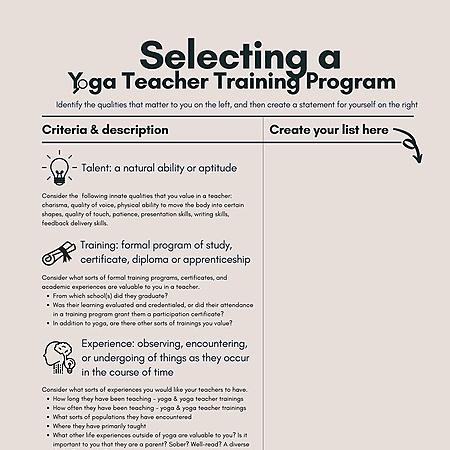 @WhiteLotusTherapeutics How to Choose a Yoga Teacher Training | Free download Link Thumbnail | Linktree