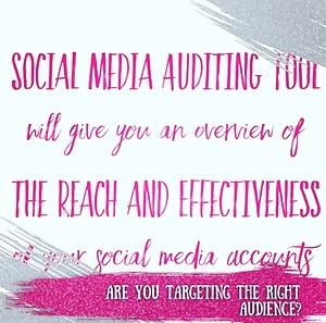 FREE Social Media Audit Tool