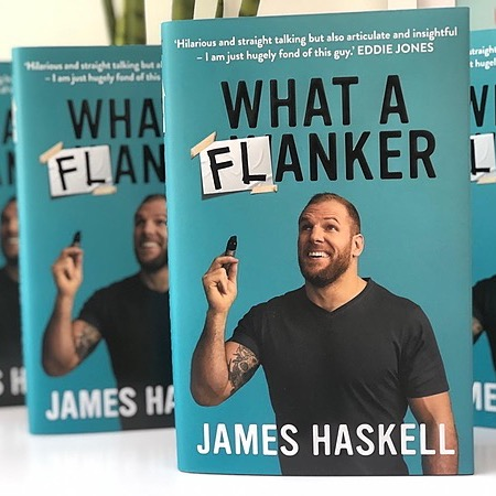 James Haskell What A Flanker - The Book Link Thumbnail | Linktree